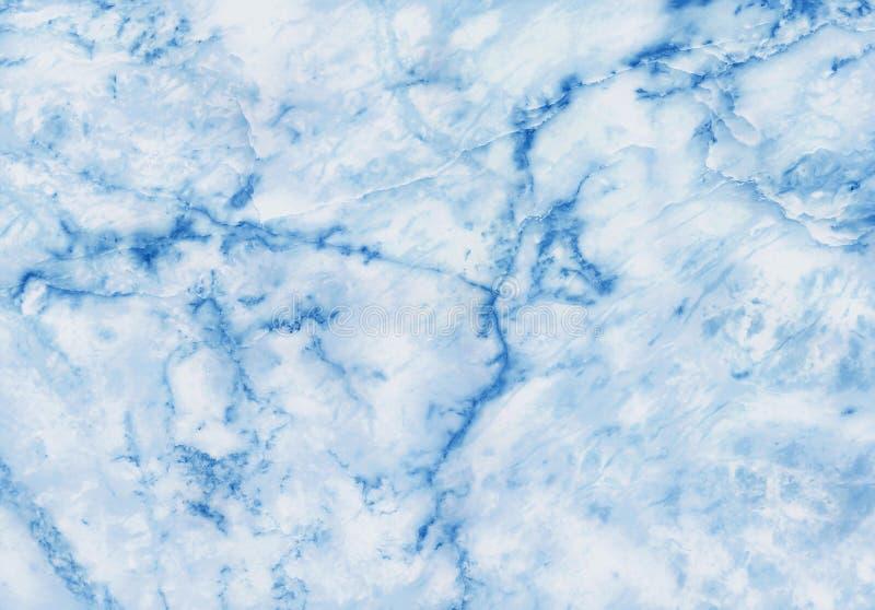 Fond de marbre bleu-fonc? de texture avec la vue de haute r?solution et sup?rieure de la pierre naturelle de tuiles dans le mod?l illustration de vecteur