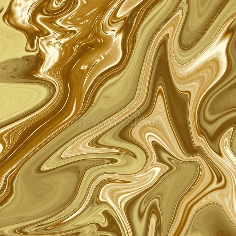 Fond de marbre d'or, texture de marbre d'or Abrégé sur de marbre or Papier peint de marbre d'or, Backgroundç de marbre illustration de vecteur