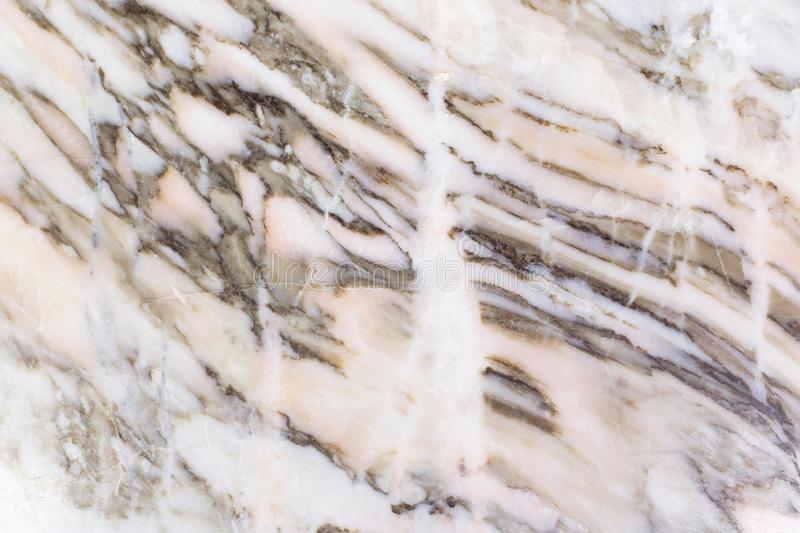 Fond de marbre gris beige de texture de résumé Plan rapproché en pierre de modèle image libre de droits