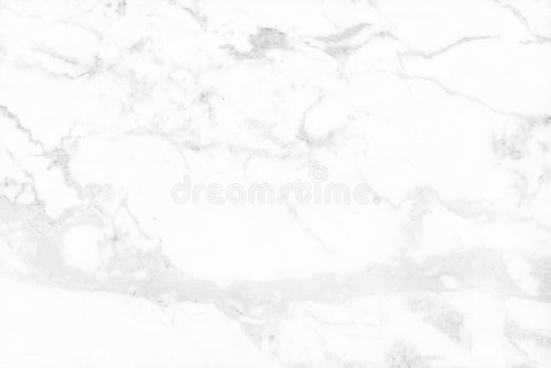 Fond de marbre gris blanc de texture avec lumineux de structure détaillée et luxueux de haute résolution illustration libre de droits