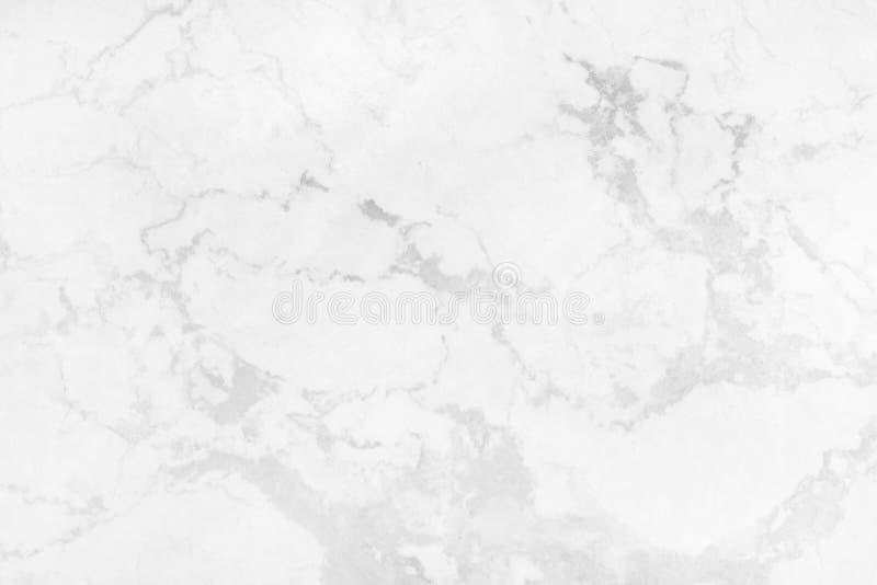 Fond de marbre gris blanc de texture avec lumineux de structure détaillée et luxueux de haute résolution illustration stock