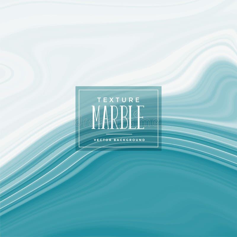 Fond de marbre liquide bleu élégant de texture illustration libre de droits