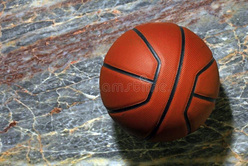 Fond de marbre pointu naturel de basket-ball personne images libres de droits