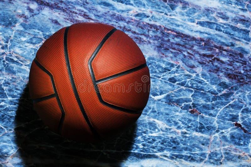 Fond de marbre pointu naturel de basket-ball personne photos libres de droits