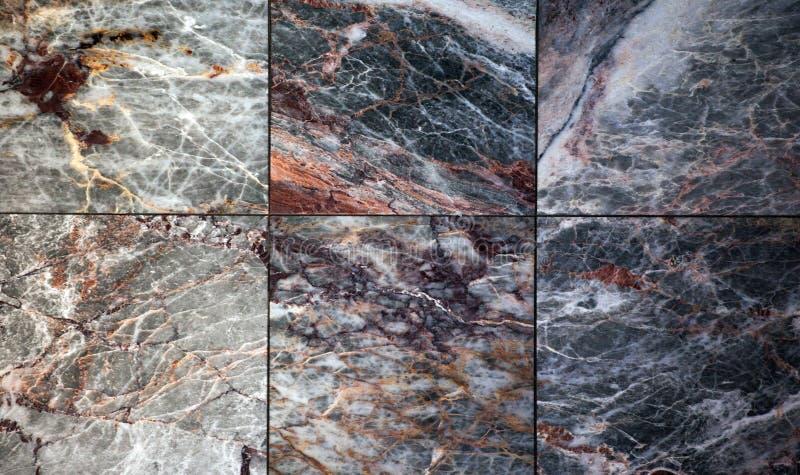 Fond de marbre pointu naturel de plancher images stock