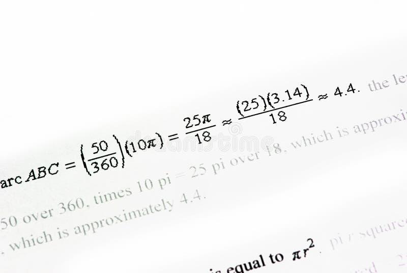 Fond de mathématiques illustration stock