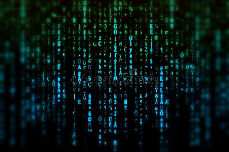 Fond de Matrix images stock