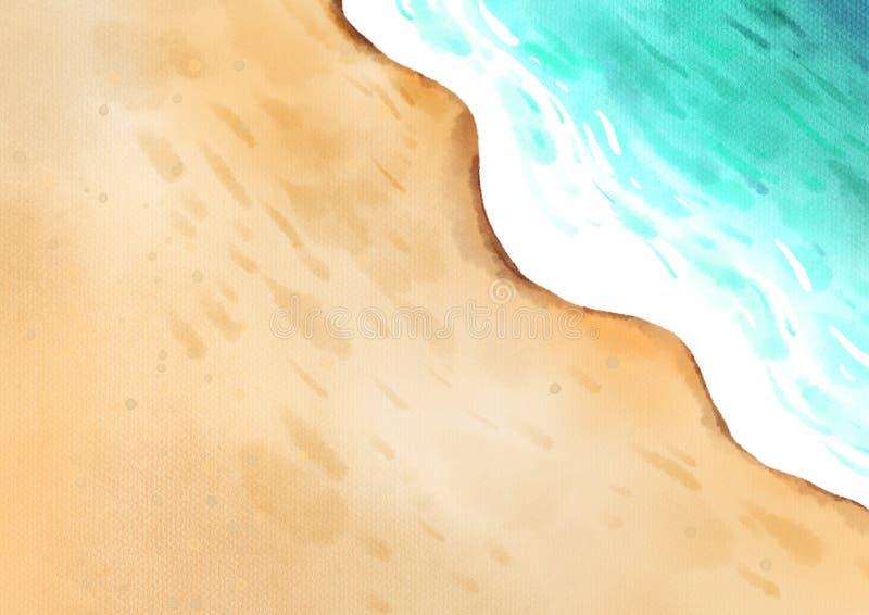 Fond de mer illustration libre de droits
