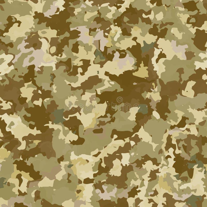 Fond de militaires de camouflage illustration stock