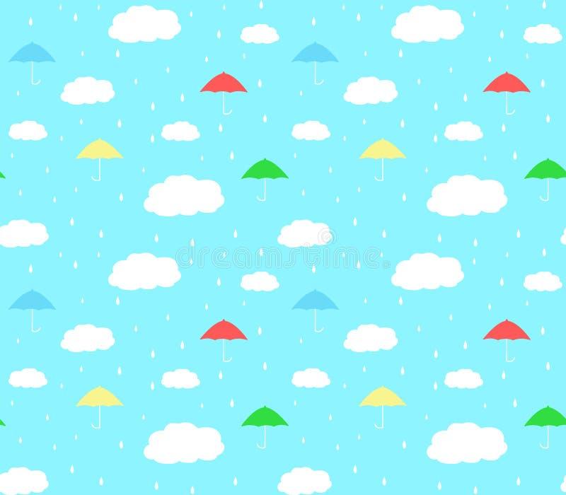 Fond de modèle de saison des pluies photographie stock
