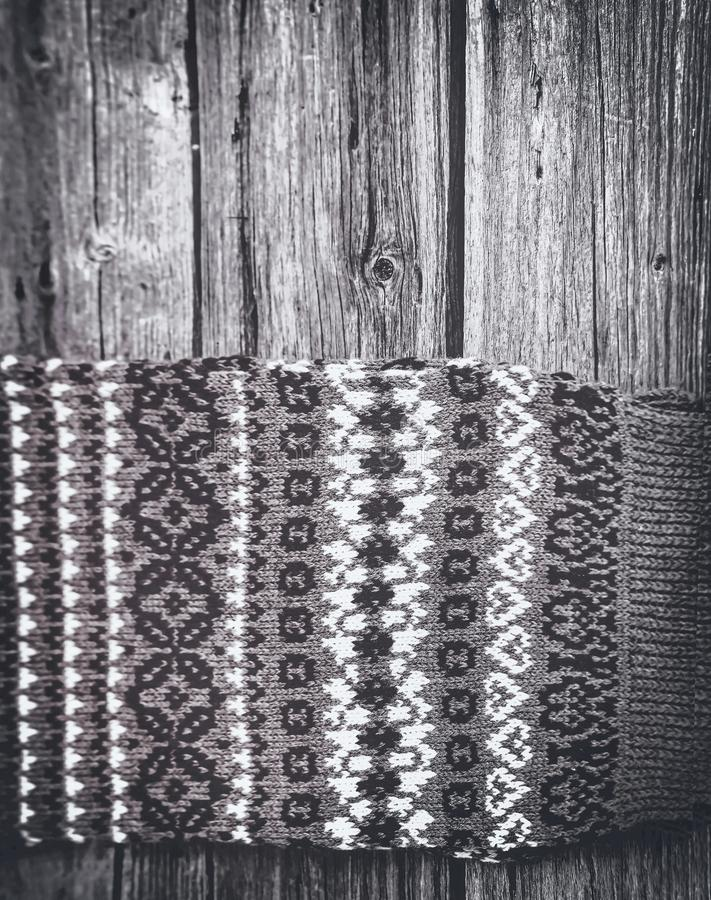 Fond de modèle tricoté par hiver images libres de droits