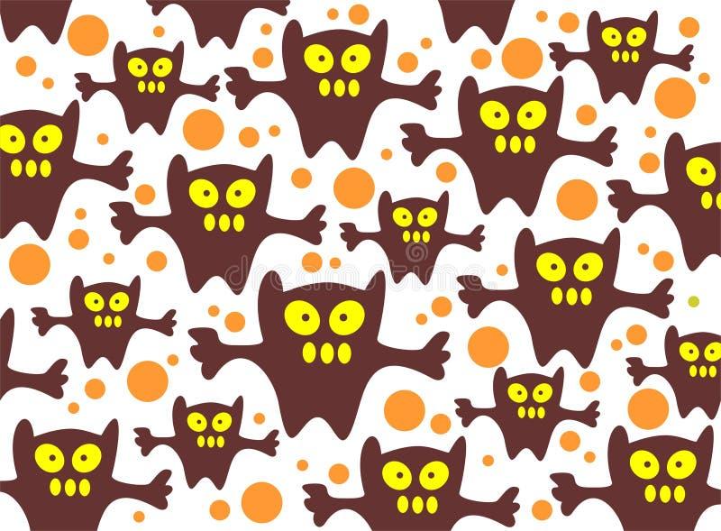 Fond de monstres illustration stock