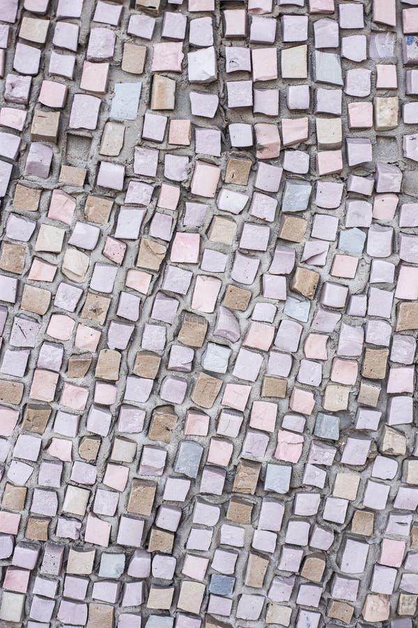 Fond de mosaïque colorée grise photo libre de droits