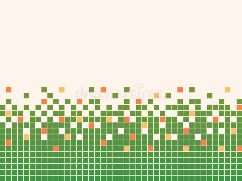 Fond de mosaïque de Pixel illustration de vecteur