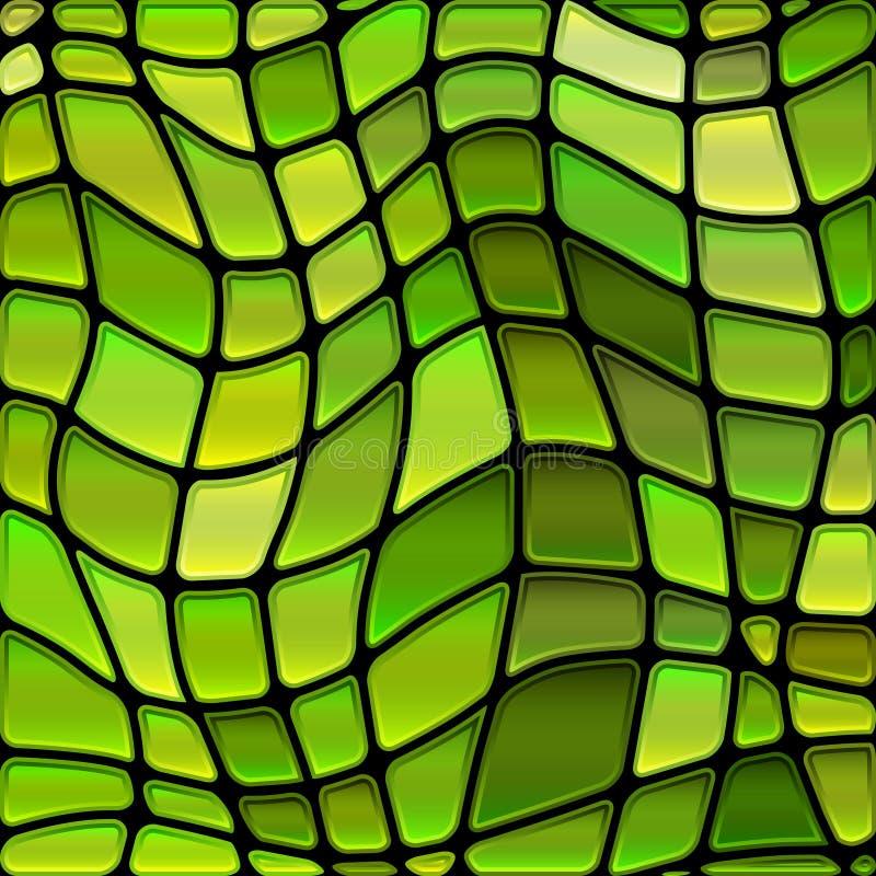 Fond de mosaïque de verre coloré de vecteur photo libre de droits
