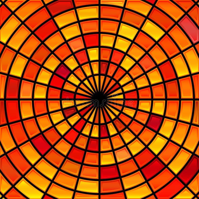 Fond de mosaïque de verre coloré de vecteur images libres de droits