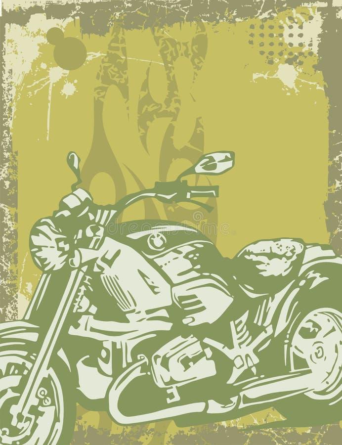 Fond de moto illustration de vecteur
