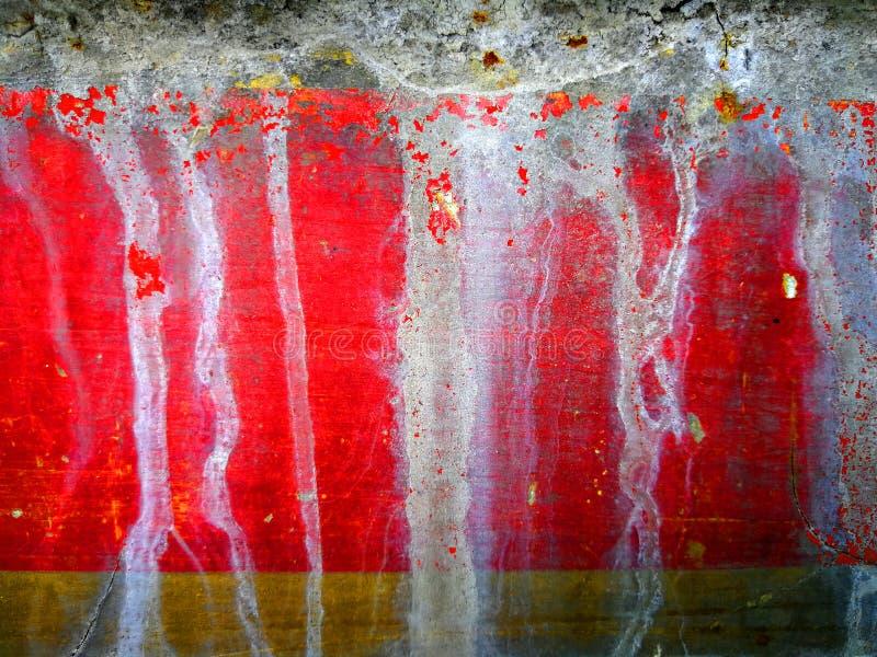 Fond de mur coloré en métal avec les taches blanches images stock