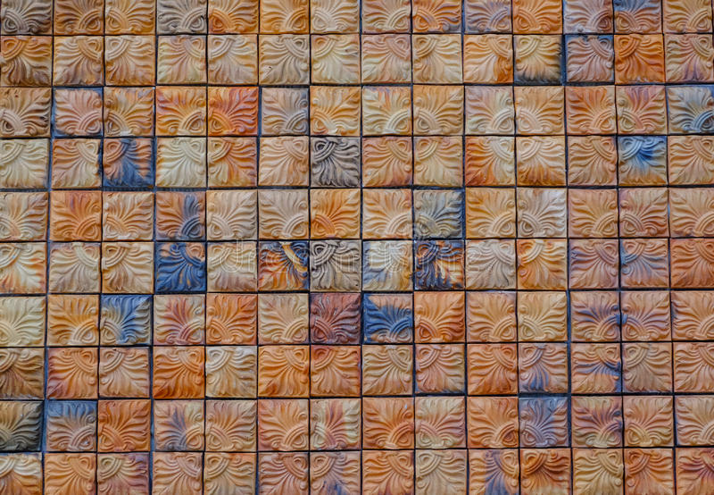 Fond de mur de briques de place de Brown, fond abstrait photo libre de droits