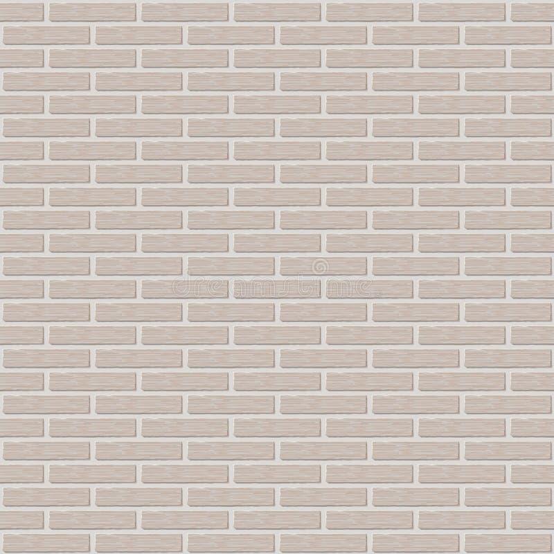 Fond de mur de briques, modèle pour la réplique continue illustration de vecteur