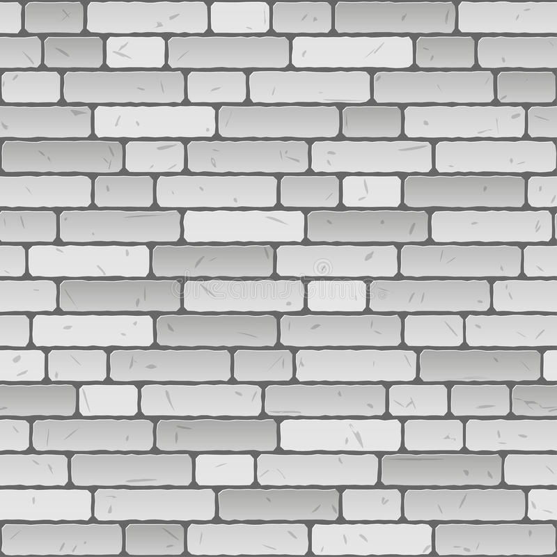 Fond de mur de briques - sans fin illustration de vecteur