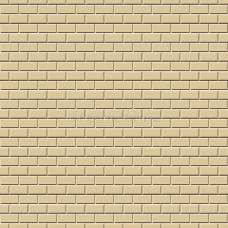 Fond de mur OCRE - sans fin illustration de vecteur