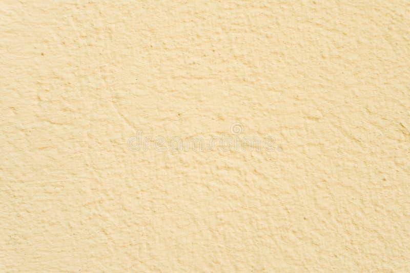 Fond de mur peint par jaune photographie stock libre de droits