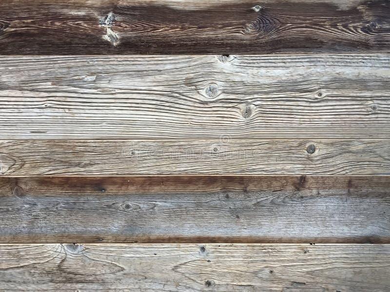 Fond de fond de mur de planche, rustique ou rural en bois naturel clair photos libres de droits