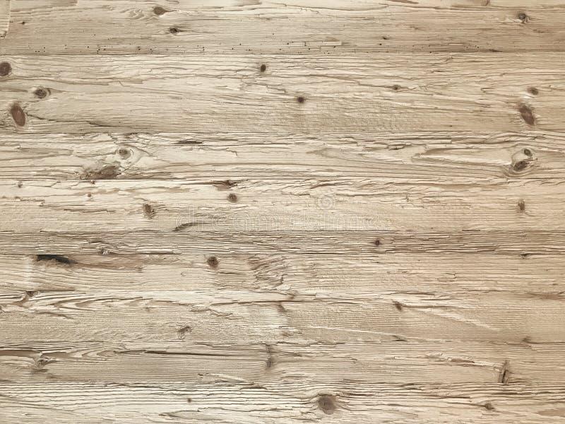 Fond de fond de mur de planche, rustique ou rural en bois naturel clair photographie stock