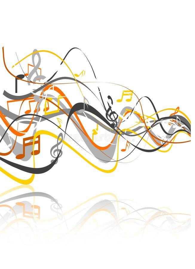 Fond de musique. illustration libre de droits
