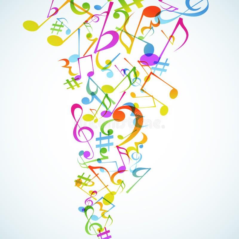 Fond de musique. illustration de vecteur