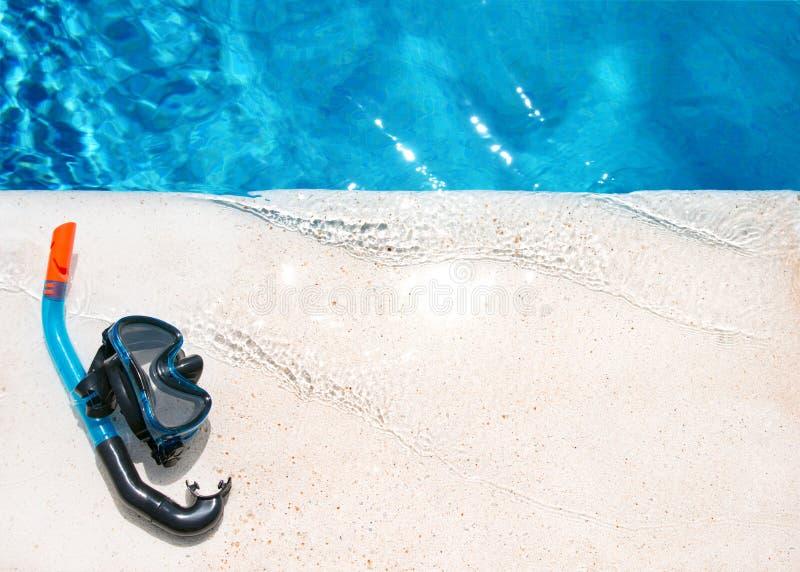 Fond de natation images libres de droits