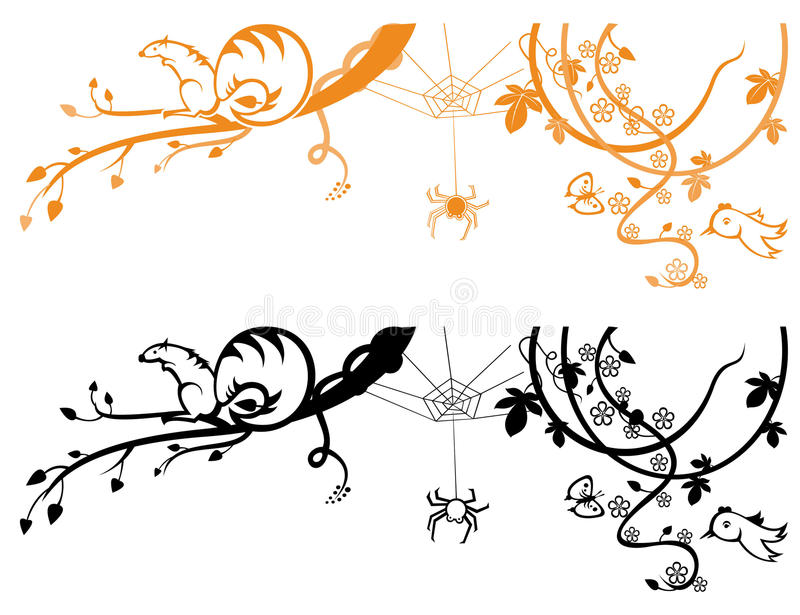 Fond de nature illustration stock