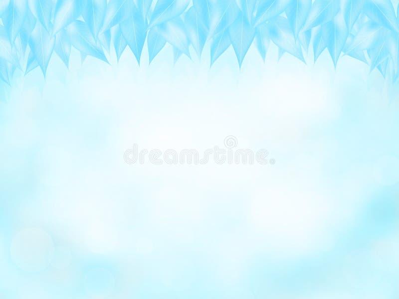 Fond de nature dans des couleurs d'hiver illustration libre de droits