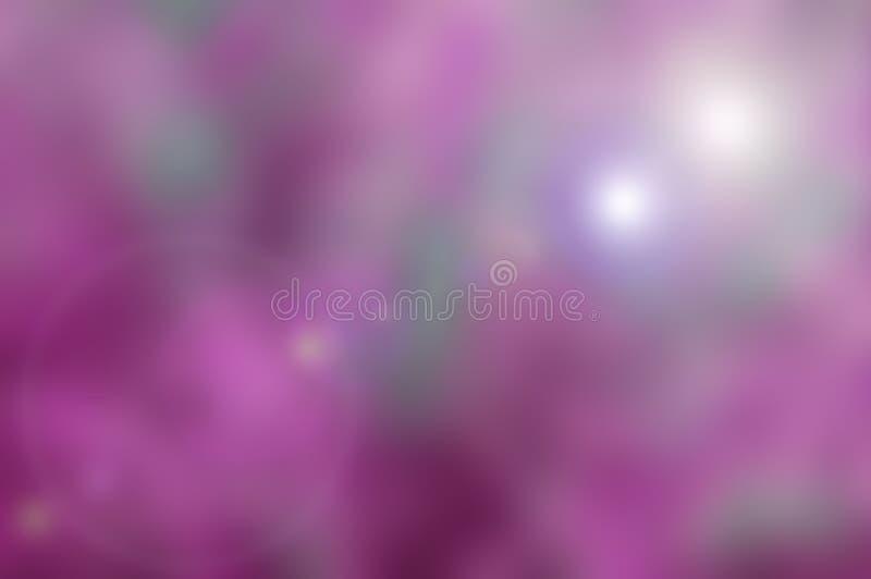 Fond de nature de Blured avec le ton pourpre rose photo stock