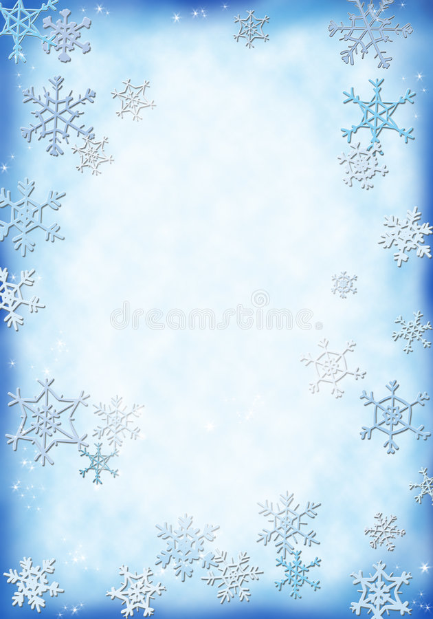 Fond de neige illustration stock