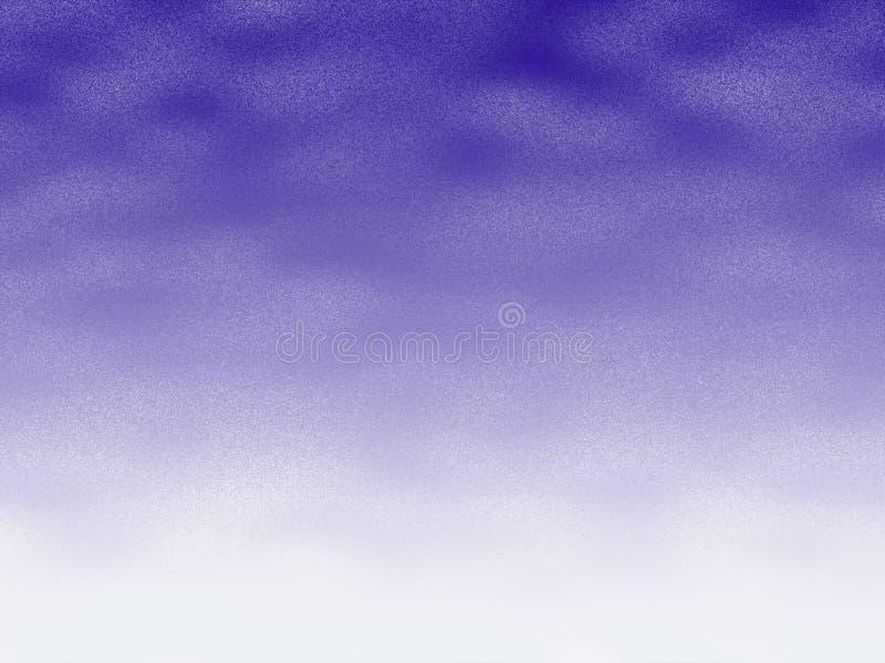 Fond de neige légère illustration stock