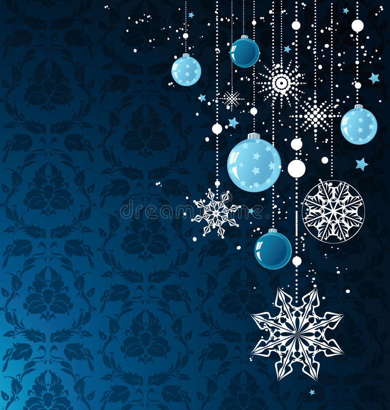 Fond de Noël illustration stock