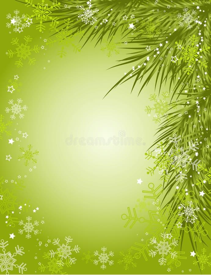 Fond de Noël,   illustration de vecteur
