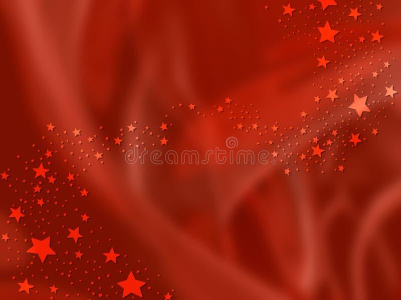 Fond de Noël avec des étoiles illustration libre de droits