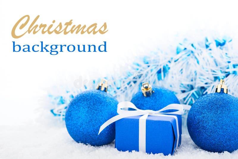 Fond de Noël. Cadre de cadeau images stock