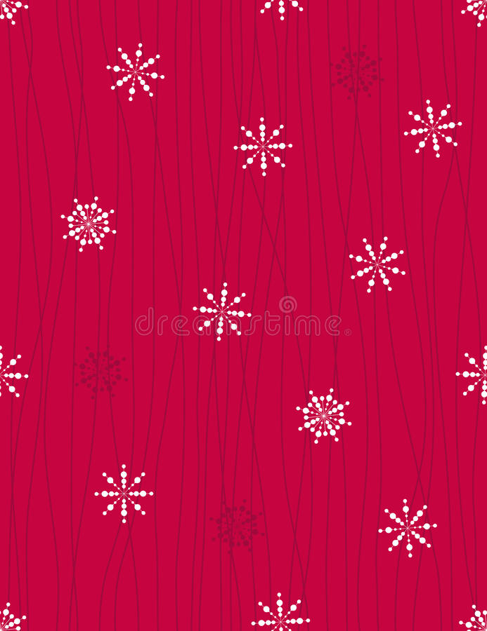 Fond de Noël - configuration sans joint de vecteur illustration de vecteur