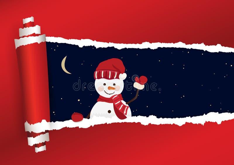 Fond de Noël dans le vecteur illustration de vecteur