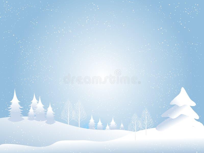 Fond de Noël de neige photos stock