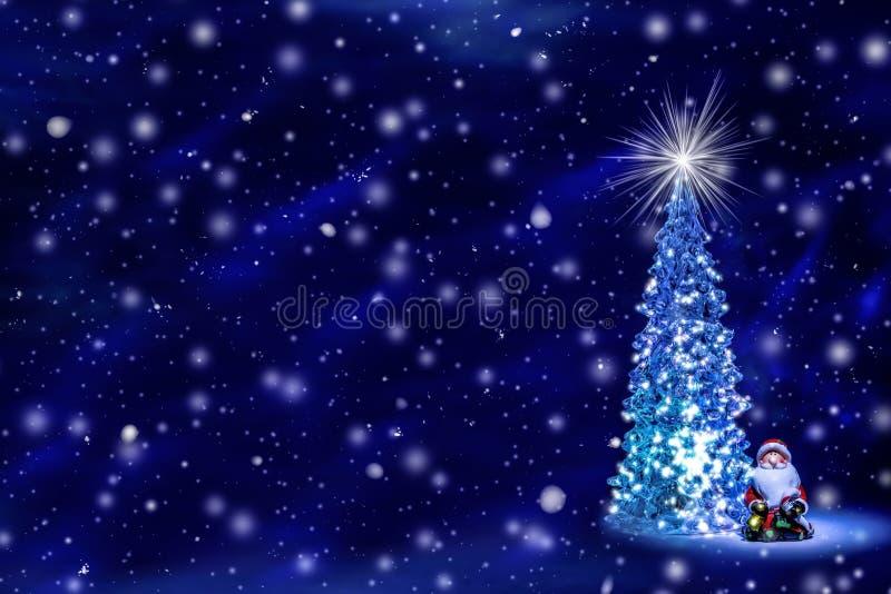 Fond de Noël et de nouvelle année avec l'espace libre pour le texte photo libre de droits