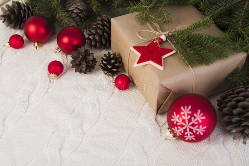 Fond de Noël horizontal image stock