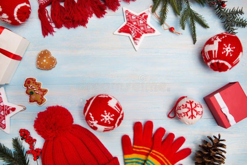 Fond de Noël horizontal image libre de droits