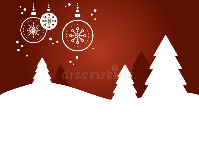 Fond de Noël (iii) illustration libre de droits