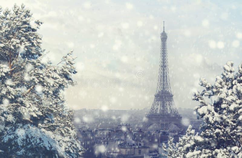 Fond de no l vue a rienne du paysage urbain de paris - Images tour eiffel gratuites ...
