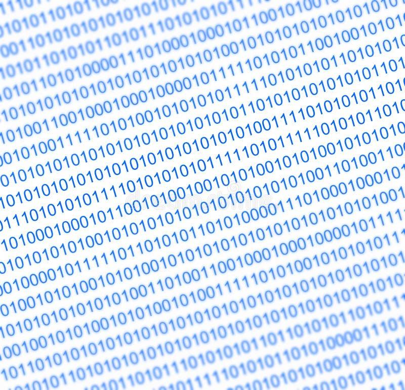 Fond de nombres binaire illustration libre de droits